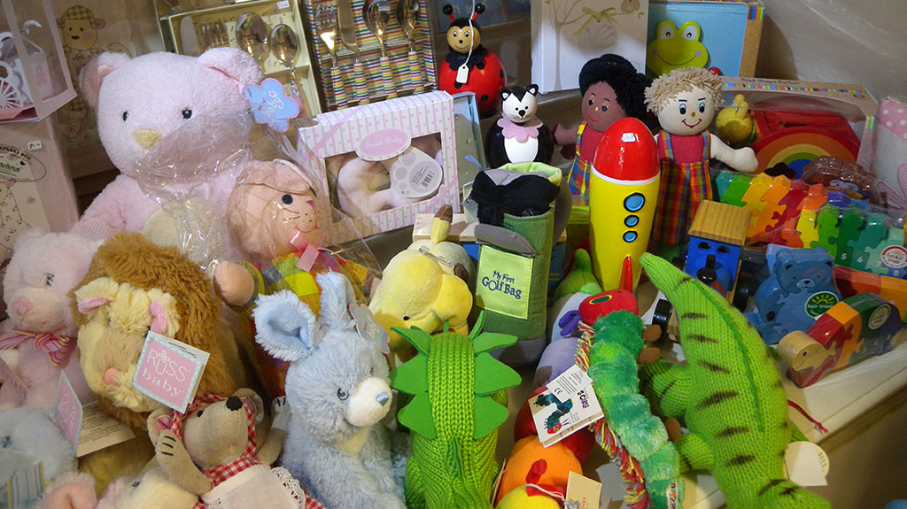 Gift Shop Bagshot toys for babies