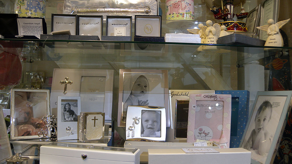 Gift Shop Bagshot baby and christening gifts