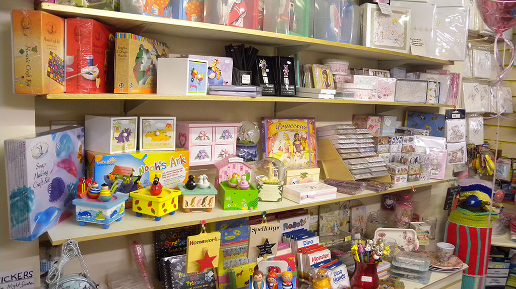 Gift Shop Bagshot toys for young children